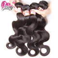 7A Grade Brazilian Virgin Hair Body Wave 3pcs lot 100g/bundle Natural Color Certified Human Hair Weaves Beauty Forever Hair