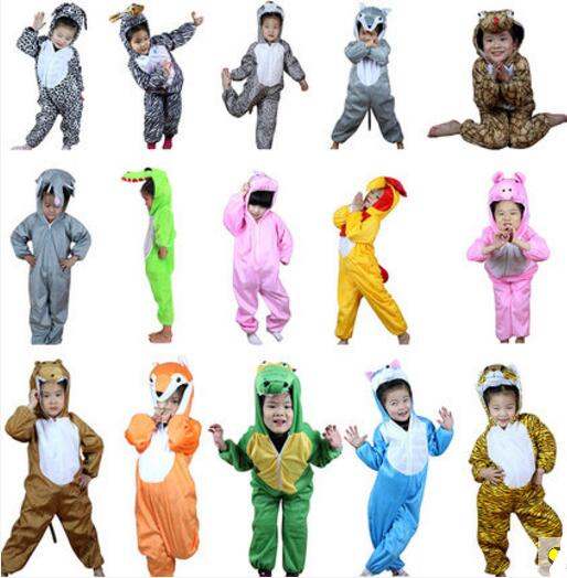 Animal Dinosaur Cat Dog Costume One Piece Pajamas Onesies Kids Children Boy Girls Anime Christmas Halloween Cospaly Costume