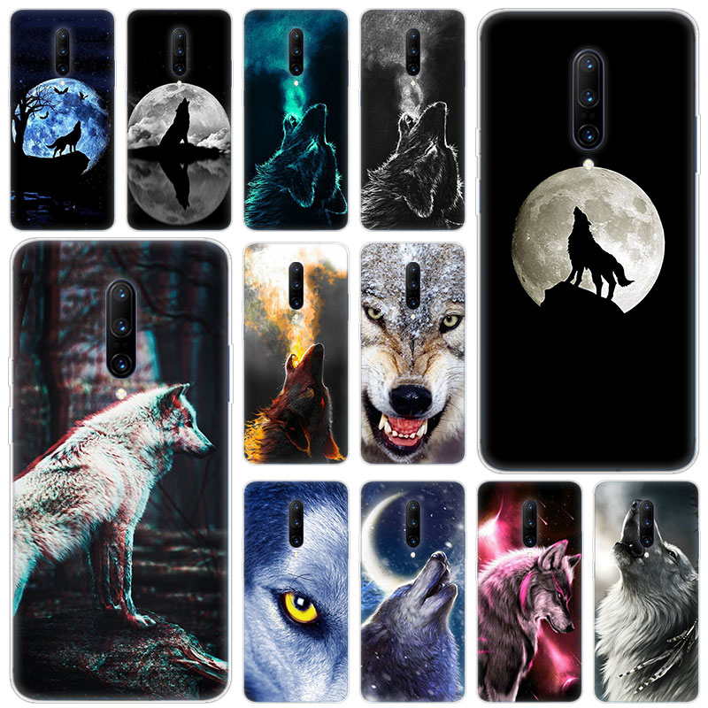 Hot Animal wolf Soft Silicone Fashion Transparent Case For font b OnePlus b font font b
