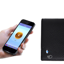 Genuine Leather Anti Lost Intelligent Bluetooth Smart Anti-theft Wallet