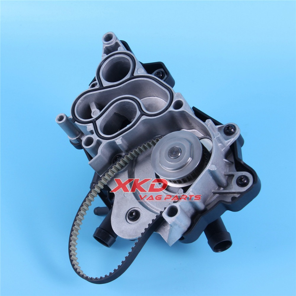 small resolution of engine water pump kit for vw golf mk7 passat b8 audi q3 polo ea211 1 4tsi 04e 121 600 am 04e 121 600 q 04e 121 600 r in water pumps from automobiles
