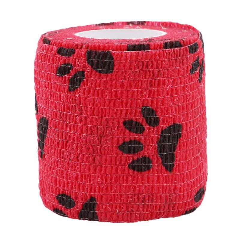 Hot Sell font b Pet b font Dog Cat Self adhesive Elastic Bandage Non Woven Fabrics