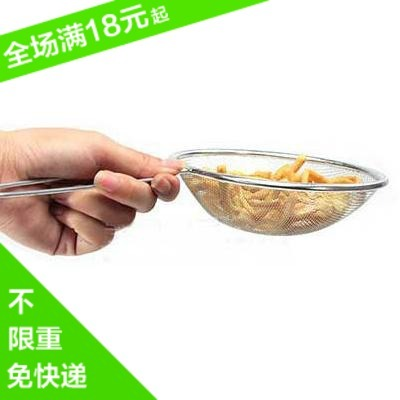 Kitchen supplies Large stainless steel colander oil filter spoon filter mesh powell hot pot spoon strainer