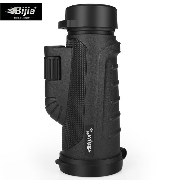 BIJIA Nitrogen Waterproof 10X Monoculars Portable low-light-level Night Vision Monocular Telescope For Hiking outdoor sports