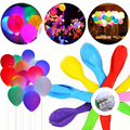 2017 Hot Colorful Balloon with LED Light, The Best Decoration for Party, New Year, Christmas, accept fast shipping by DHL