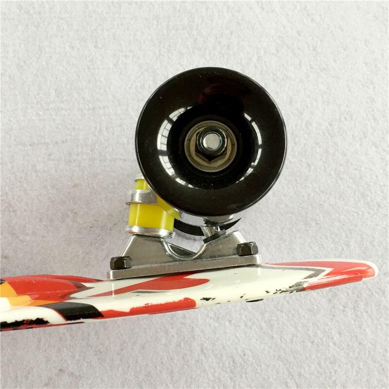 22 дюймов хорошее качество доски пены для девочки и мальчика чтобы насладиться Скейтбординг мини Ракета доска