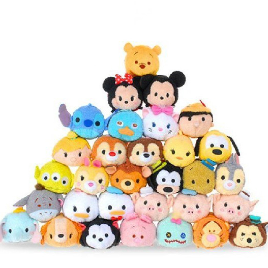 Tsum de Mini 9CM de dibujos animados Animal Peluche Anime Brinquedos Para Bebe Oyuncak juguetes Para niñas