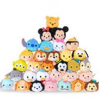 Tsum tsum pelúcia mini 9 cm desenhos animados animais peluche anime brinquedos para bebe oyuncak brinquedos para meninas