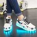 2016 New Fashion Shoes Woman Tenis Led Shoes For Adults Glowing Lights Up Shoes Chaussures Basket Led Slipony Casual Shoes