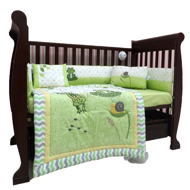 Frog Baby Crib Bedding