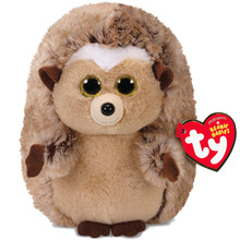 "Pyoopeo Ty Beanie Babies 6"" 15cm Ida the Hedgehog Plush Regular Soft Big-eyed Stuffed Collection Doll Toy with Heart Tag(China)"