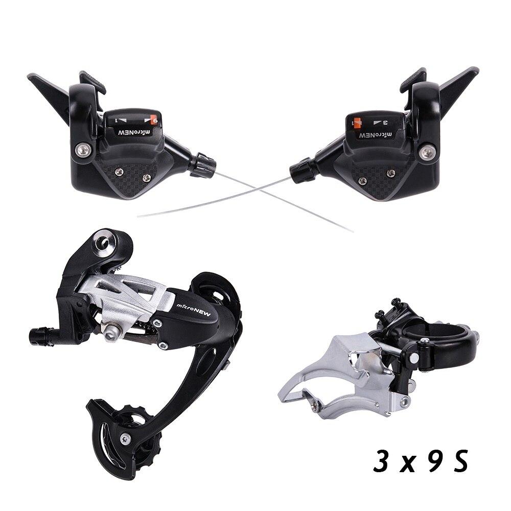 Vtt vélo 3X9 S 27 S vitesse manette de vitesse dérailleur avant arrière dérailleurs groupe pour pièces de vélo m4000 m370 m430 m590
