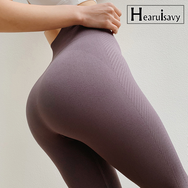 New Process Seamless Leggings Sport Fitness Women High Waisted Sport Gym Leggings Push Up Yoga Pants Winter Fitness Clothes