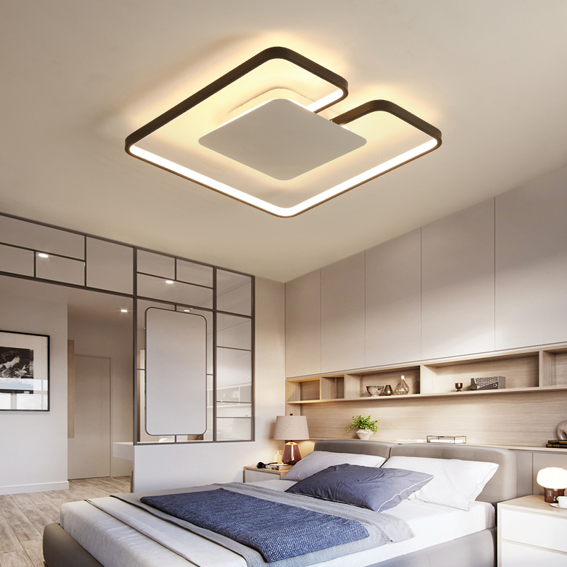 ultra thin LED Iron art Ceiling Lights for the living room chandeliers Ceiling fixture for the