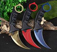 CS GO Fade Counter Strike Hand Tools Kerambit Hunting Fighting Tactical Survival Army Knife Camping