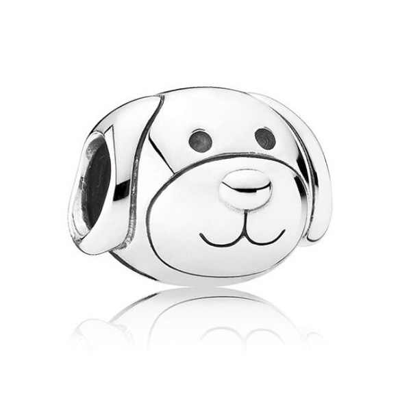Ranqin ネックレスヨーロッパファッション新ギフトオリジナルピンクビーズフィットパンドラチャームブレスレット女性ペンダミニードナルドダック犬