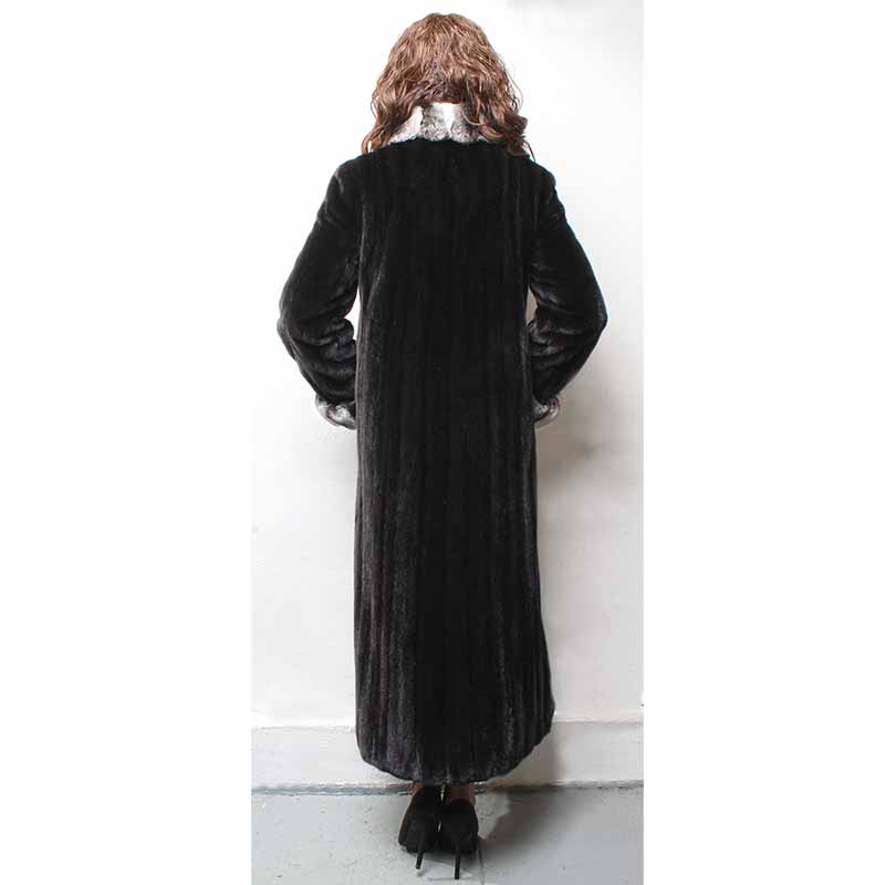 De 9 12 Photo Long Rex Solide Fourrure Lapin Naturelle Manteau Veste 130 2018 Épais Chaud Avec As Parc Hiver Cm Femmes qxCUBwCE