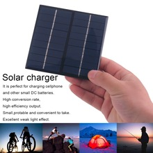 Professional 9V 2W 200Mah Solar Panel battery charger Module System Solar Energy Power Charger For Mobile Phone Small DC battery