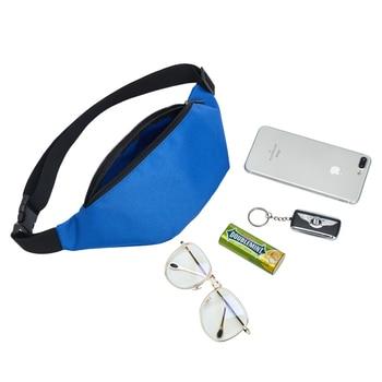 Waist Bag Belt Fanny Pack Waterproof Chest Female Handbag Unisex  2