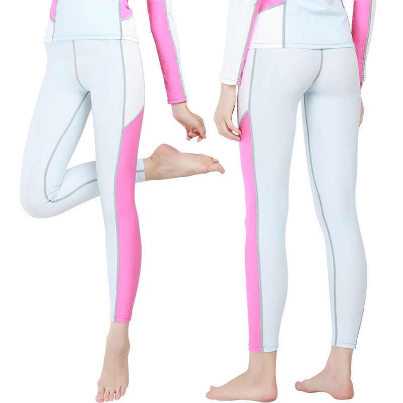 Sbart Kadınlar Erkekler uzun kollu dalgıç giysisi T shirt Pantolon Döküntü Muhafızları Sörf Şnorkelle Dalma mayo kadın gömlek için sörf