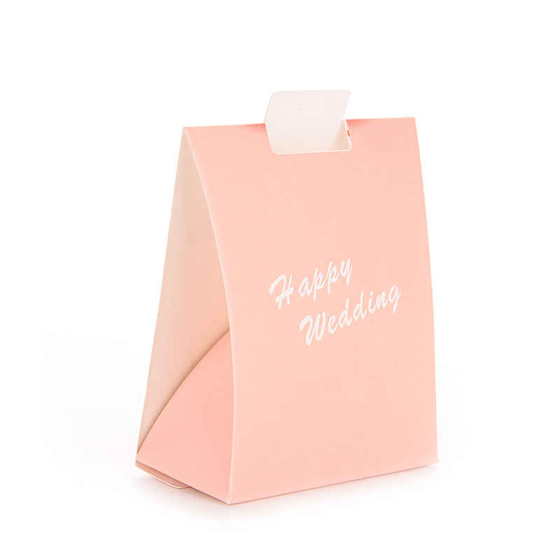 100 Pcs Wedding Favor Gift Bags Bride Groom Bridal Gift Cases Groom Tuxedo Dress Gown Ribbon Candy Box For Marriage