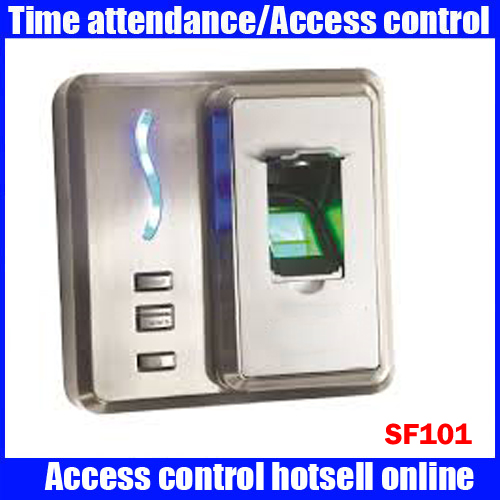 ZKTeco SF101 Fingerprint identification access control applicable for small office, house, factory access control system double sided turnstile for access control system catracas tourniquetes