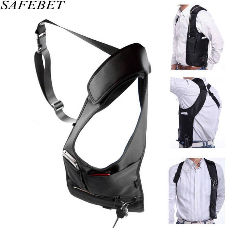 SAFEBET Brand Women Anti Theft Armpit Cross-package Men Holster Strap Messenger Bags Underarm Phone Burglarproof Shoulder Bag
