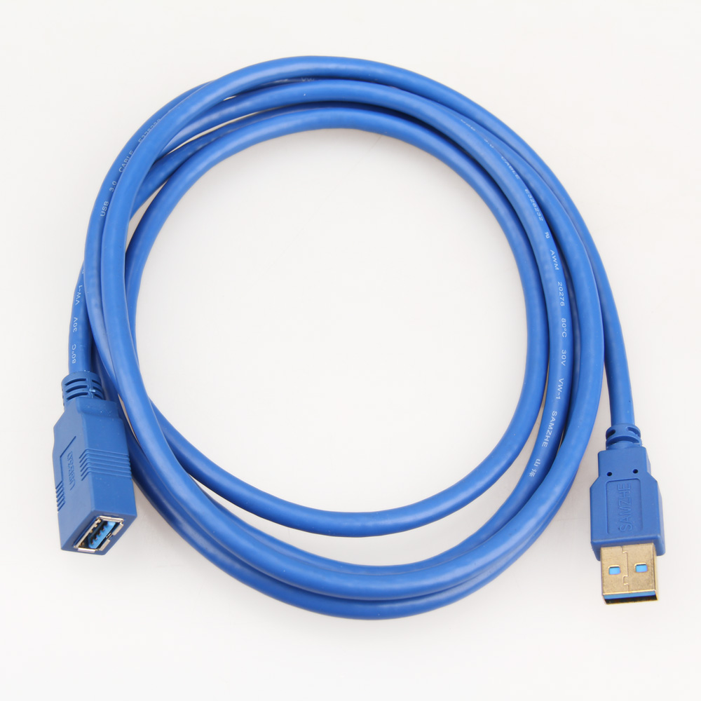 Женский USB синхронизации передачи данных удлинитель кабеля 1 м Кабель USB 3.0 Супер Скорость USB кабель-удлинитель мужчины-22