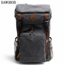цены Travel Bags Fashion Canvas Men Backpacks Men's Multi-purpose Travel Backpack Multifunction Shoulder Bag Men Duffel Bag Overnight
