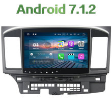 2GB RAM Android 7.1.2 12V 2Din Car Radio DAB GPS Navigation DVD player for Mitsubishi Lancer 2015