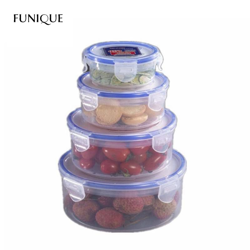 FUNIQUE Kitchen Storage Box Plastic Fresh Boxes Fruit Vegetable Fresh  Container Food Containers Set Kitchen Organizer Tool In Storage Boxes U0026  Bins From Home ...