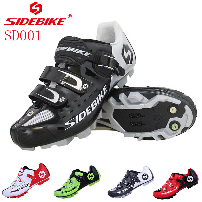 SIDEBIKE Professional Athletic Bicycle Shoes MTB Cycling Shoes Men Self-Locking Bike Shoes sapatilha ciclismo MTB Shoe 2017 new sidebike mtb shoes mountain bike cycling bicycle shoes highway lock men athletic bicycle cycling sapatilha ciclismo mtb