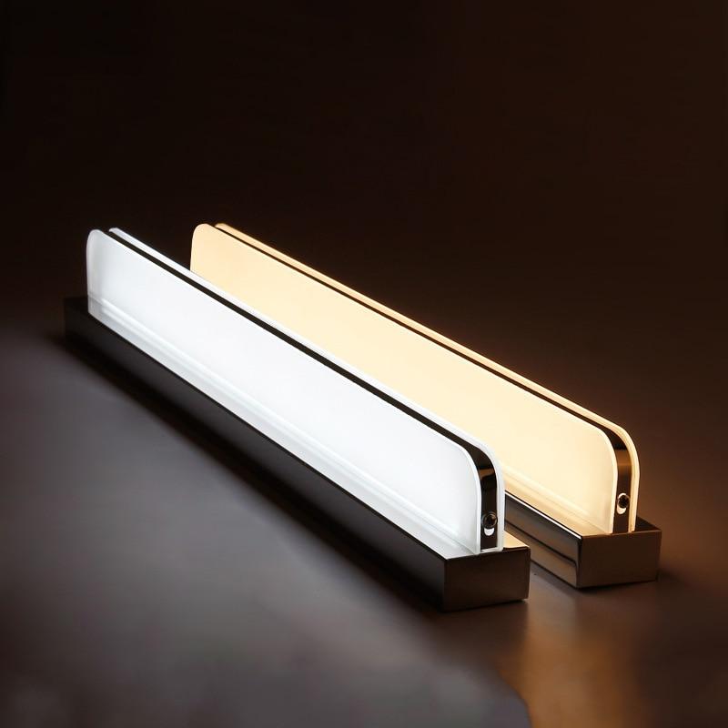 Modern  design Wall Lamps loft style led indoor Light Fixture Freeshipping Bathroom LED Mirror Light AC85-265V wireless make up