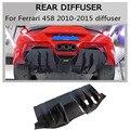 Задний диффузор из углеродного волокна для Ferrari 458 Italia Spider 2010-2015