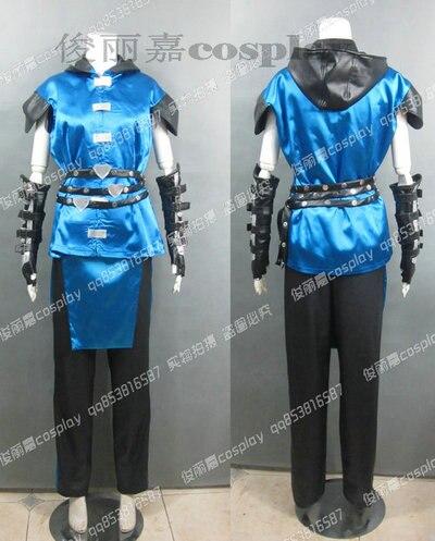 2016 Mortal Kombat Sub Zero Cosplay costume as Christmas costume and Halloween costume