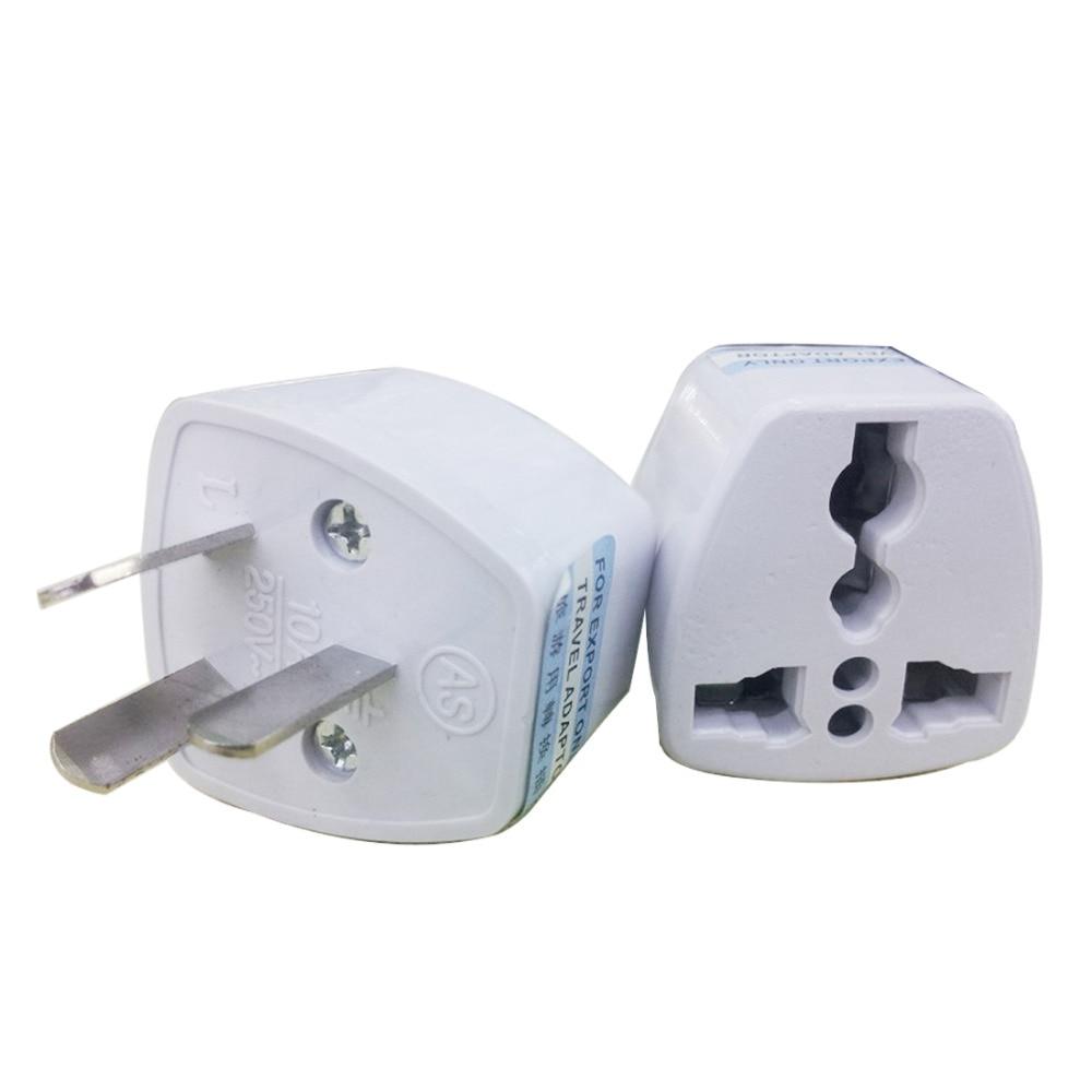 MAIF Universal Power Adapter Travel Adaptor 3 pin AU Converter US/UK/EU to AU Plug Charger For Australia New Zealand