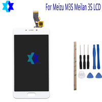 For Meizu M3S Meilan 3S LCD Display Touch Screen Panel Digital Replacement Parts Assembly Original 5