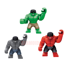 Super Hero Marvel Avengers Legoingly Block  Thanos Hulk Batman Figure Kids Educational Toys For Children DBP549