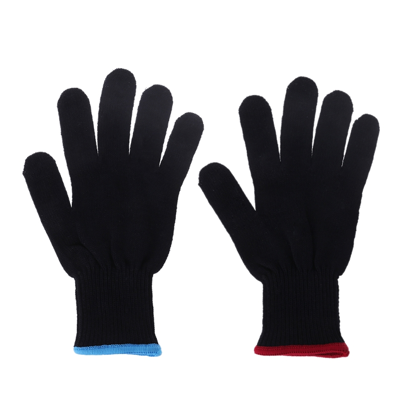 Pro Heat Resistant Protective Glove Hair Styling For Curling Straight Flat Iron image