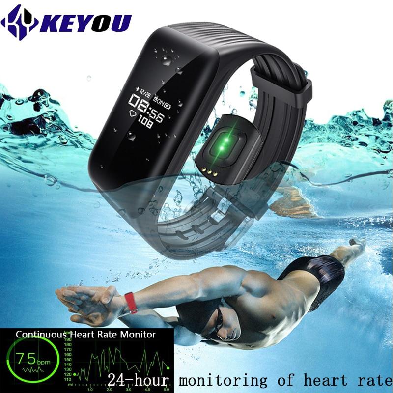 ספורט Smart Wristband קצב הלב צג כושר גשש - אלקטרוניקה חכמה