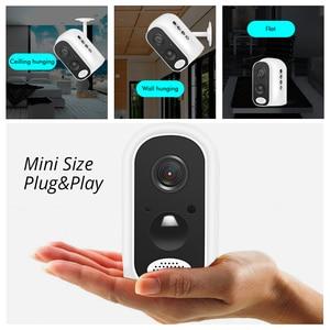 Image 5 - Hiseeu 13600mAh батарея IP камера 1080P HD беспроводная WIFI камера 2.0mp Домашняя безопасность видео Survelliance Водонепроницаемая PIR сигнализация