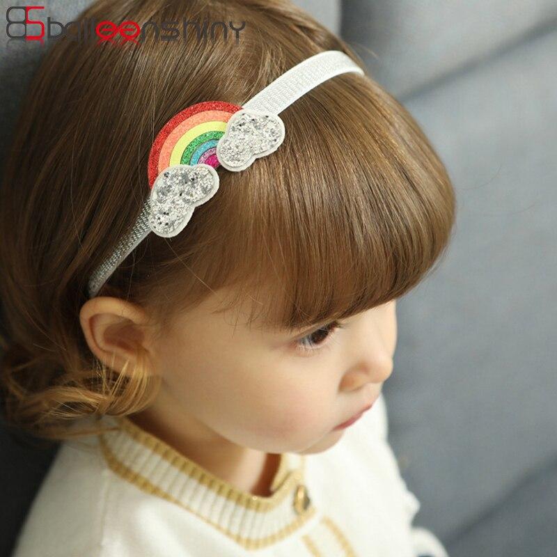 2bca8a8b435ad BalleenShiny Rainbow Baby Girls Headband Children Kids Hair Clips Cartoon Cute  Fashion Colorful Lovely Girls Hair Accessories-in Hair Accessories from ...