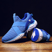 Summer Men and Women Running Shoes Sneakers Net Shoes Couple Damping Sports Shoes Outdoor Camping on Foot Training Jogging Shoes