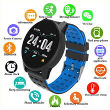 Fashion Smart Watch Men Women 2019 Sport Mens Digital Watch Pedometer Record Heart Rate Monitor Smartwatch for Android ios(China)