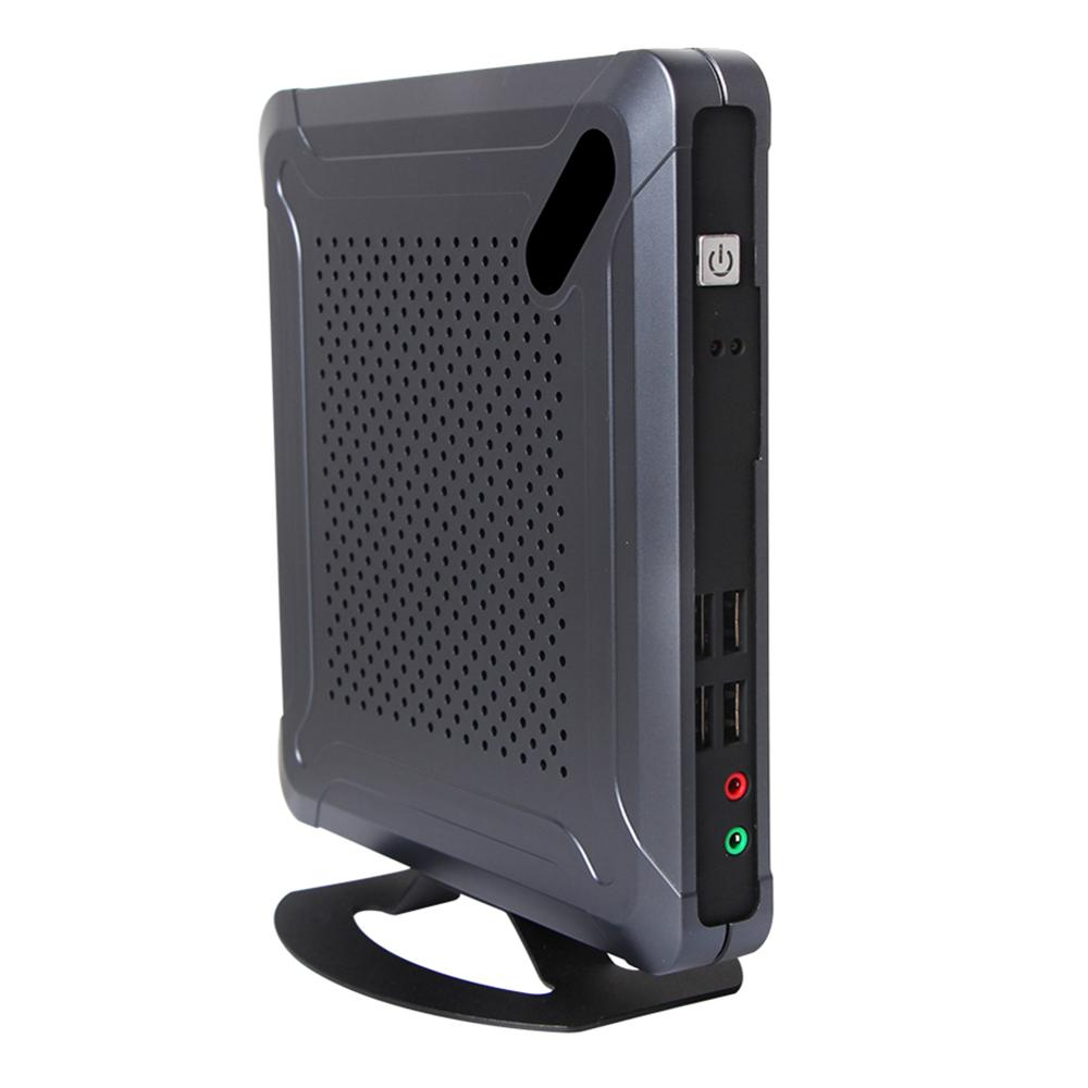 Fanless Mini PC,Desktop Computer,Intel Celeron J1800,Windows 10/Ubuntu,[HUNSN BH06L],(COM/VGA/HD/LAN/6USB2.0/2USB3.0)
