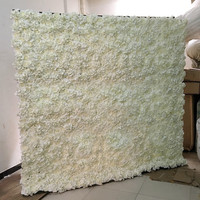 240X240cm Wedding Backdrop Centerpieces Decoration Flower Wall Set Artificial Silk Flowers Row for Party Xmas Supplies