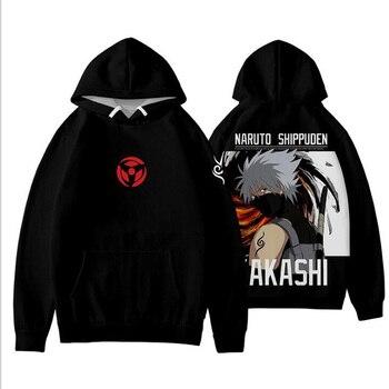 Uzumaki, disfraz de Naruto para Cosplay, Akatsuki Itachi, Uchiha Sasuke, Kakashi Hatake, estampado en 3D, sudaderas con capucha para mujer y hombre, ropa de abrigo