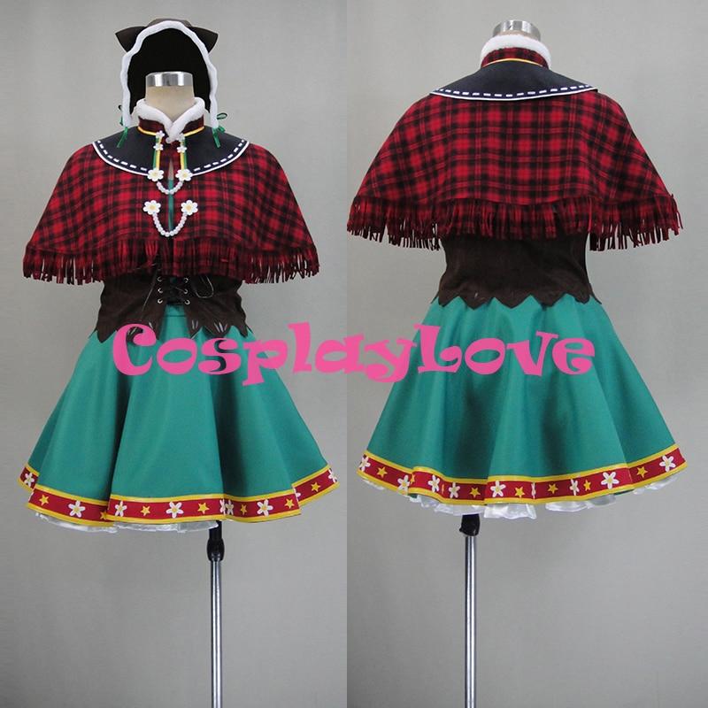 Custom Made Japanese Anime Love Live Lovelive Hanayo Koizumi Snowy