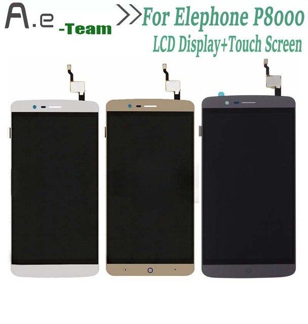 De alta Calidad Para Elephone P8000 LCD Display + Touch Screen Reemplazo Digitalizador Para Elephone P8000 5.5 pulgadas Smartphone + Herramientas