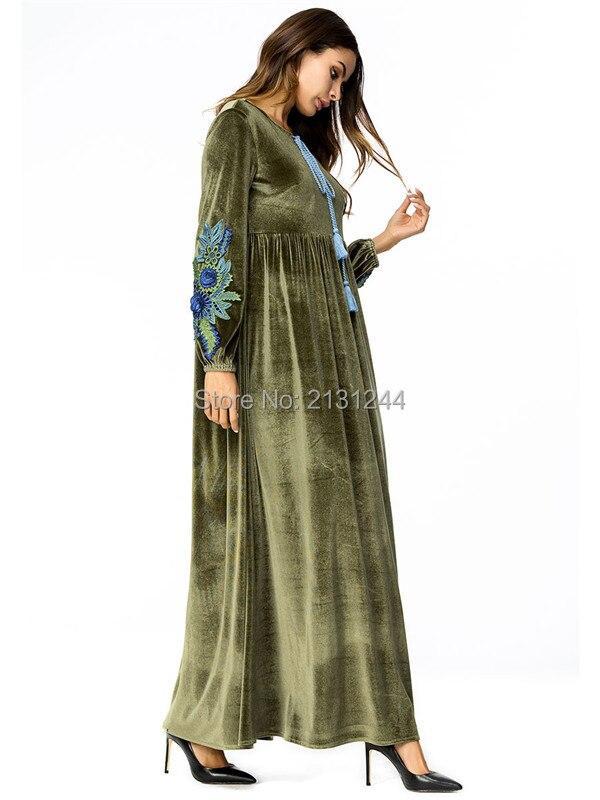 long sleeve loose dress603